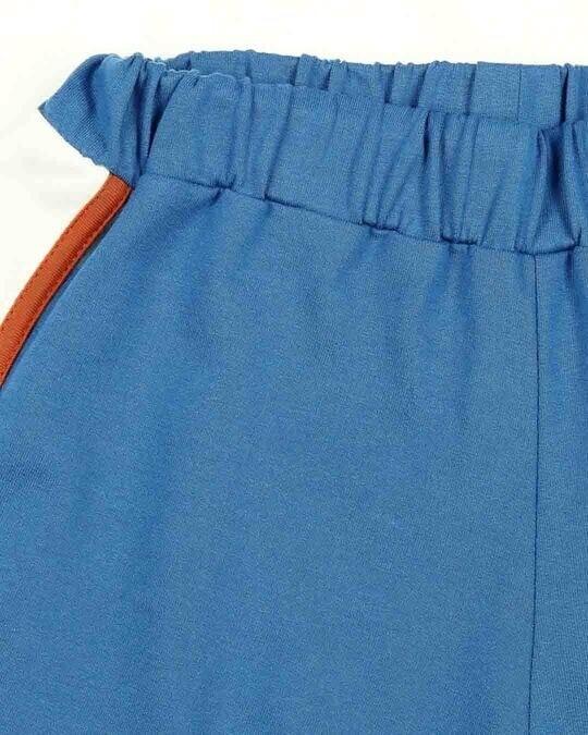 Shop Digi Teal Women's Side Panel Shorts