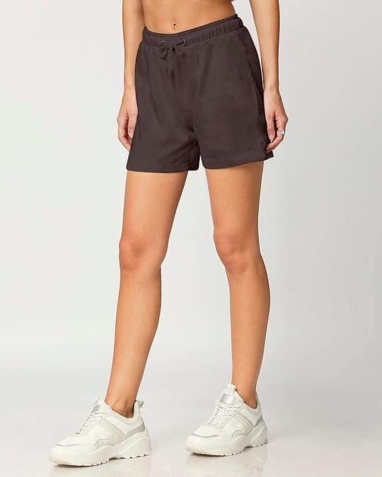 Shop Women's Solid Lounge Shorts-Design