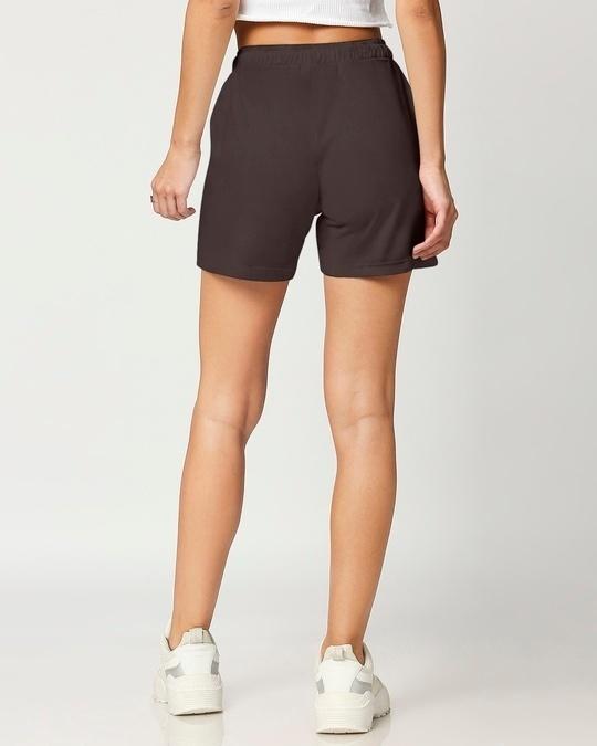 Shop Women's Solid Lounge Shorts-Full