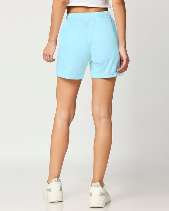 Shop Women's Solid Lounge Shorts-Full