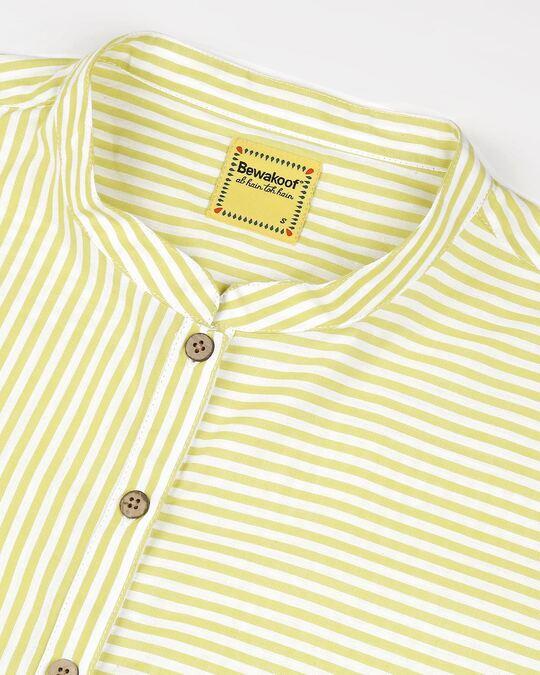 Shop Women's Yellow Yarn Dyed Striper Tunic