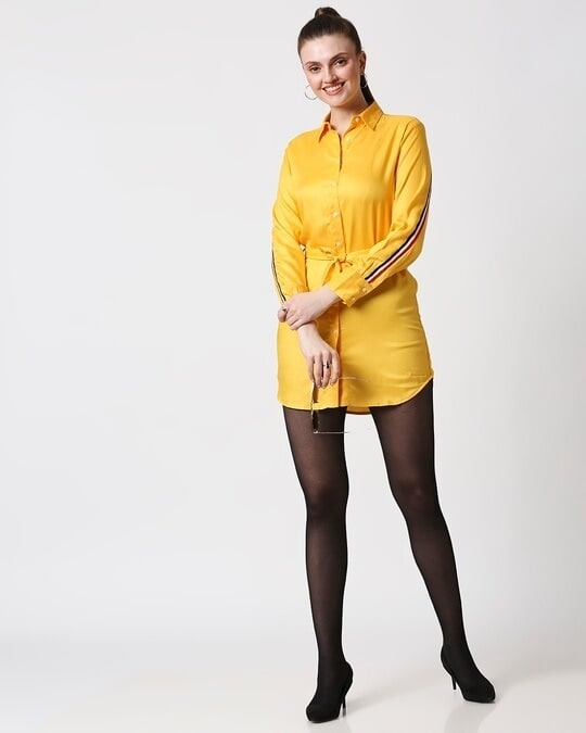 Shop Womens Solid Tape Tunic