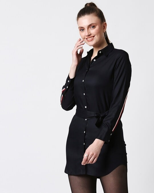 Shop Womens Solid Tape Tunic-Design