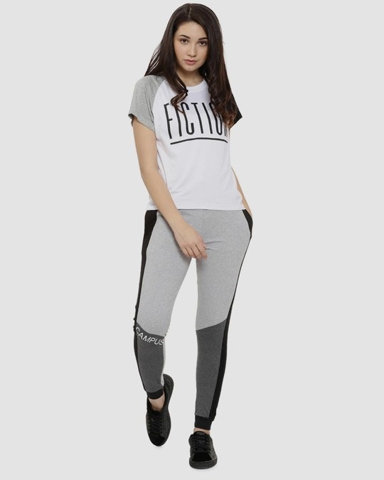 Shop Campus Sutra women's Stylish Printed Joggers-Design