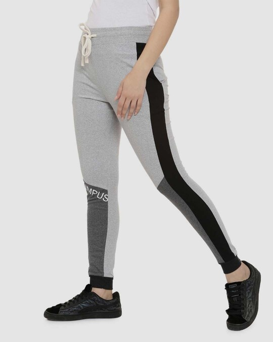 Shop Campus Sutra women's Stylish Printed Joggers-Full