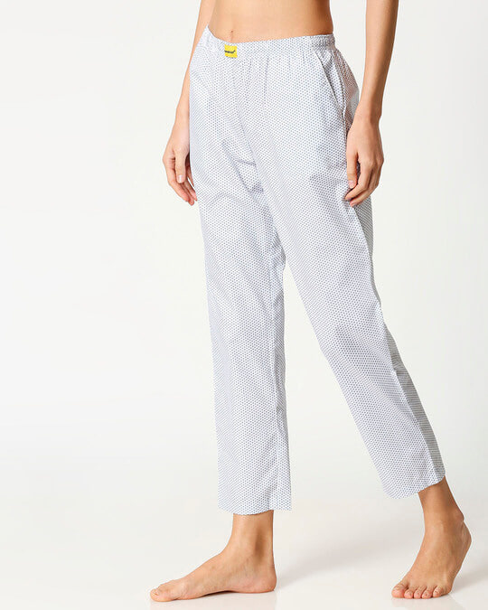 Shop White AOP Women's Pyjama-Design