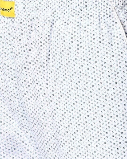 Shop White AOP Women's Pyjama