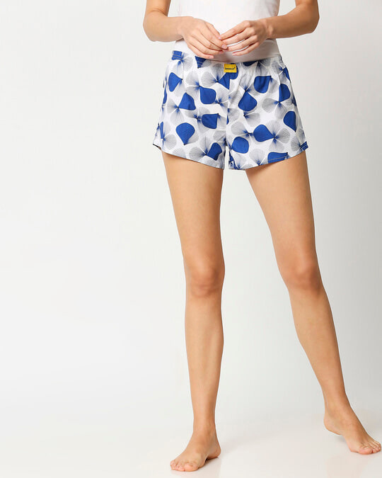 Shop Blue Rays Women's Boxers-Front