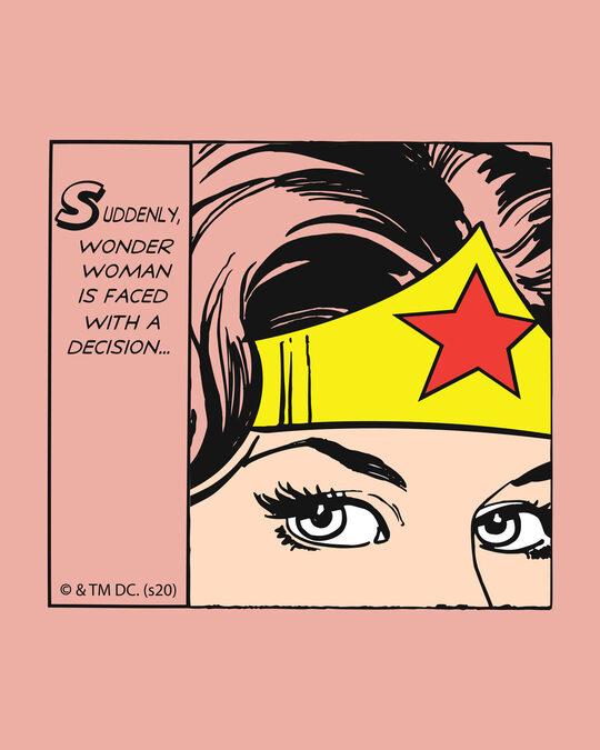Shop Wonder Woman Comical Boyfriend T-Shirts