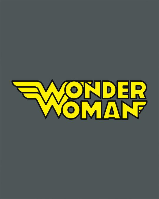Shop Wonder Woman Main Scoop Neck Full Sleeve T-Shirt-Full