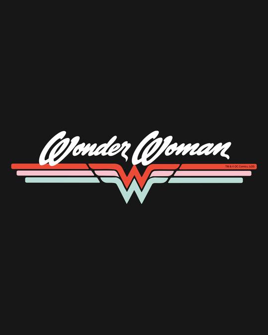 Shop Wonder Women Stripes Fleece Sweater-Full