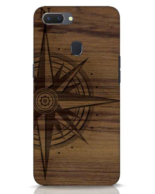 Shop Wood Compass Realme 2 Mobile Cover-Front