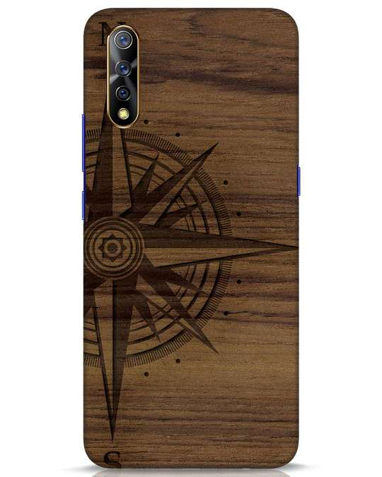 Shop Wood Compass Vivo S1 Mobile Cover-Front
