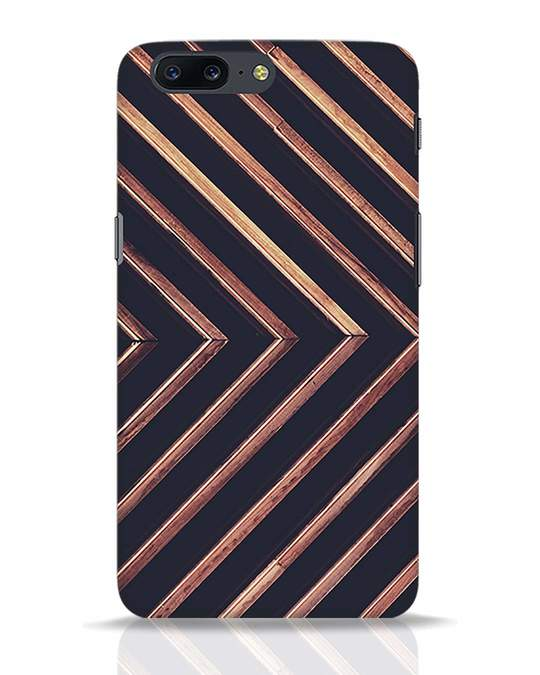 Shop Wood Stripe OnePlus 5 Mobile Cover-Front