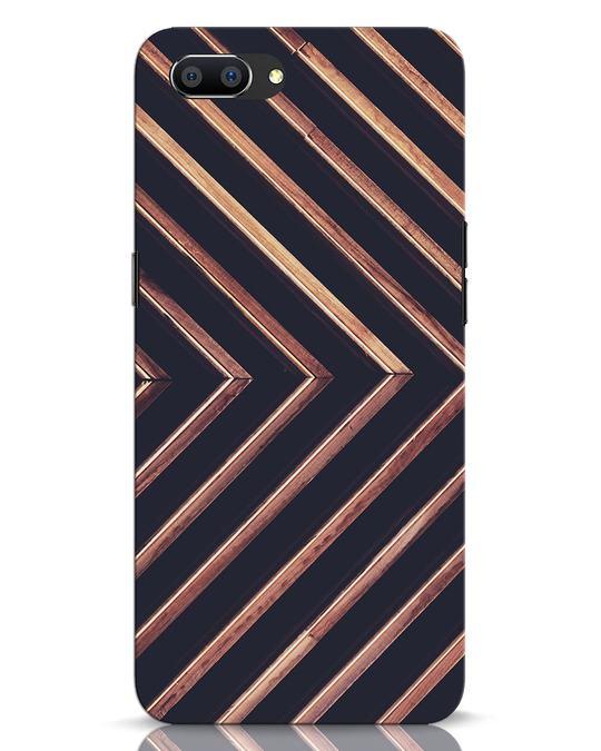 Shop Wood Stripe Realme C1 Mobile Cover-Front