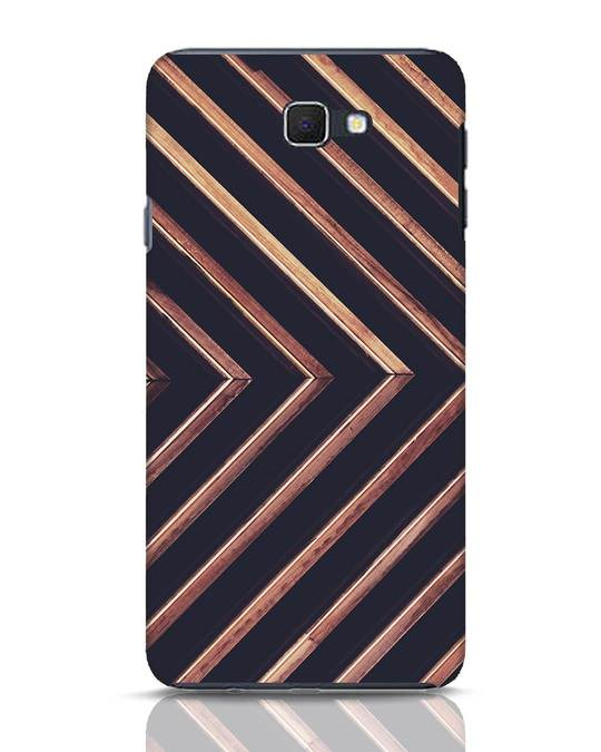 Shop Wood Stripe Samsung Galaxy J7 Prime Mobile Cover-Front