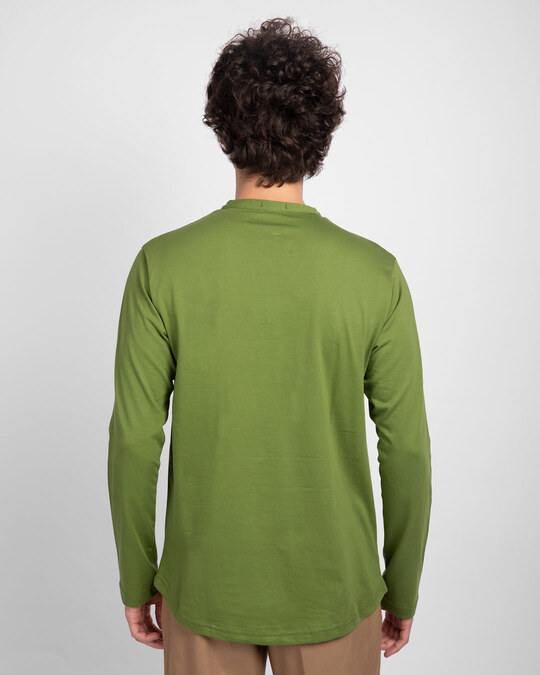 Shop Woodbine Green Full Sleeve Henley T-Shirt-Design
