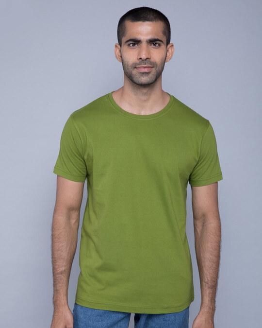 Shop Woodbine Green Half Sleeve T-Shirt-Front