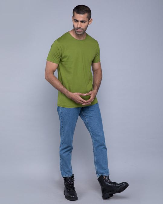 Shop Woodbine Green Half Sleeve T-Shirt-Full