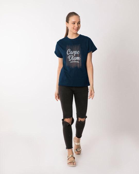 Shop Wooden Carpe Diem Boyfriend T-Shirt
