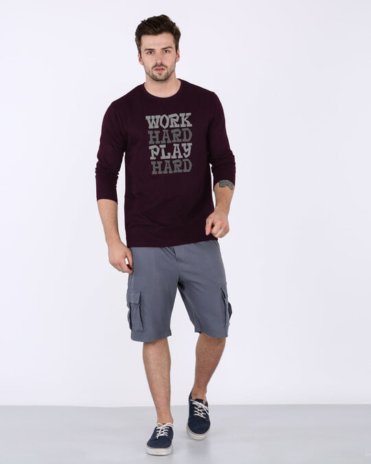 Shop Work And Play Full Sleeve T-Shirt