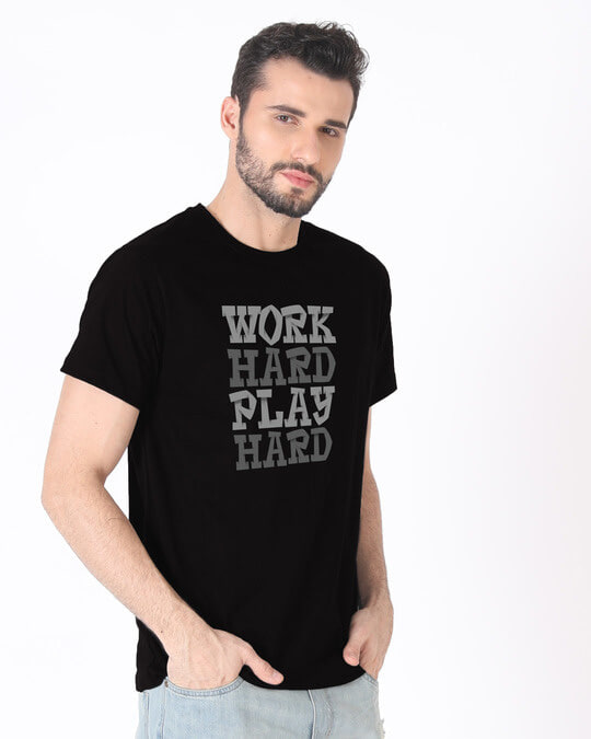 Shop Work And Play Half Sleeve T-Shirt-Full