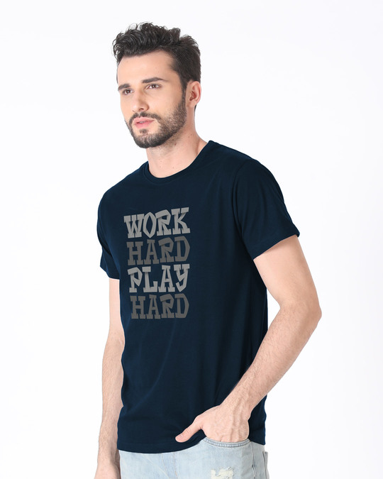 Shop Work And Play Half Sleeve T-Shirt-Design