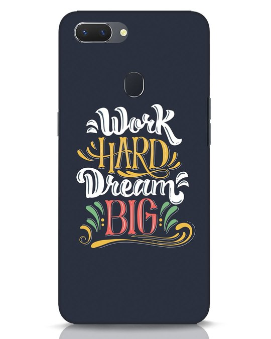 Shop Work Hard Realme 2 Mobile Cover-Front