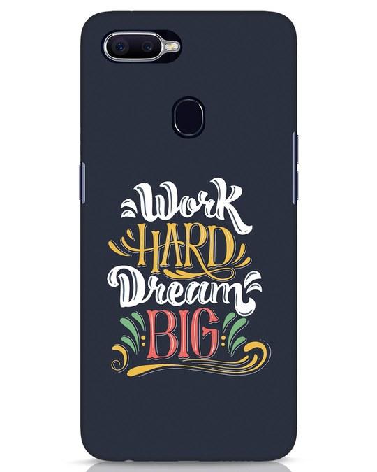Shop Work Hard Realme 2 Pro Mobile Cover-Front