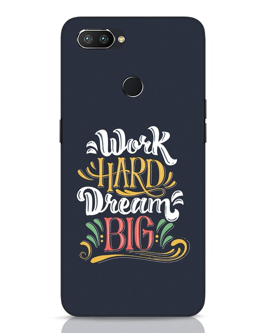 Shop Work Hard Realme 2 Pro Mobile Cover-Front