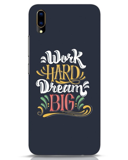 Shop Work Hard Vivo V11 Pro Mobile Cover-Front