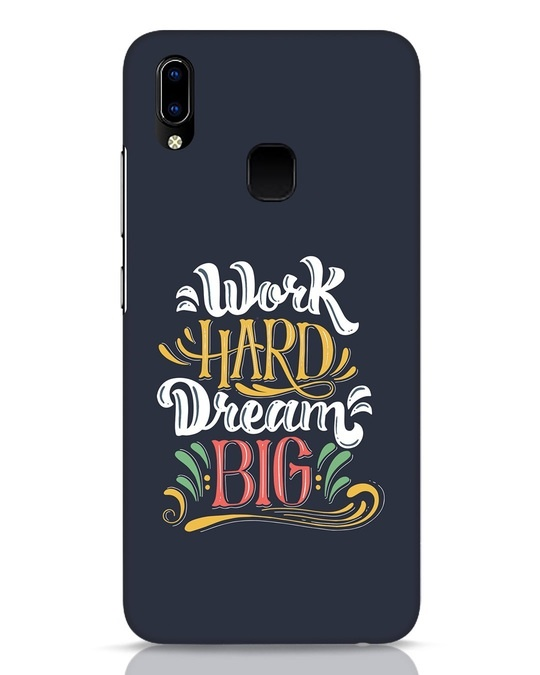 Shop Work Hard Vivo Y93 Mobile Cover-Front