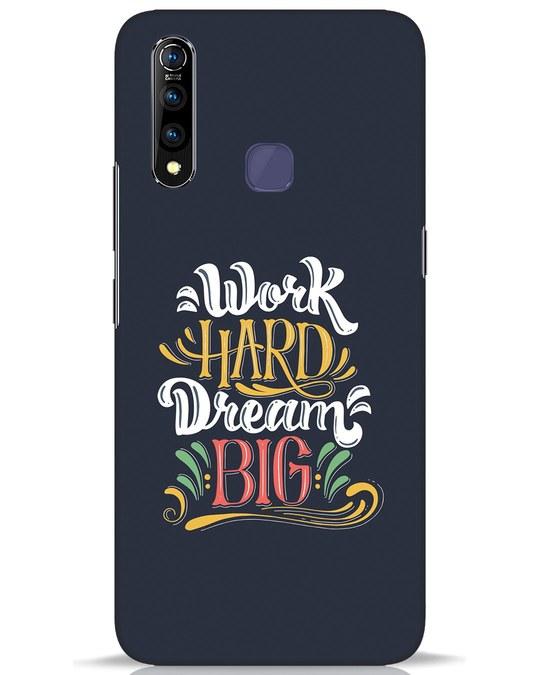 Shop Work Hard Vivo Z1 Pro Mobile Cover-Front