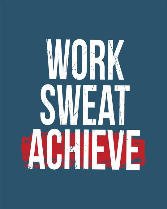 Shop Work Sweat Achieve Full Sleeve T-Shirt