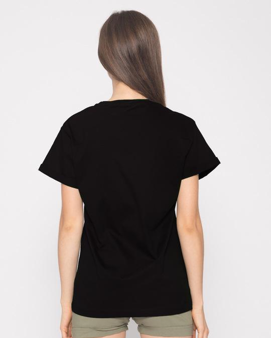 Shop World Map Boyfriend T-Shirt-Back