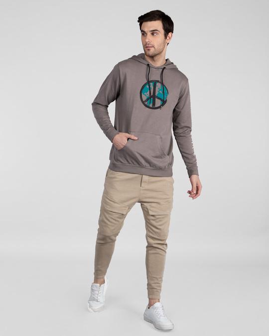 Shop World Peace Fleece Hoodie-Full