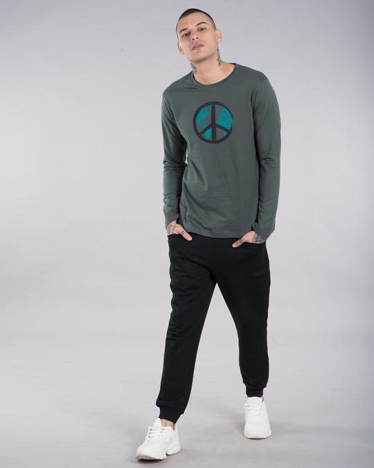 Shop World Peace Full Sleeve T-Shirt-Full