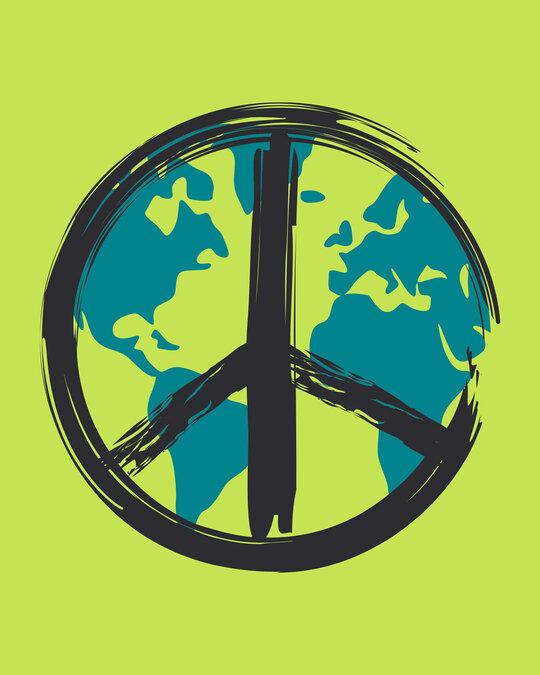 Shop World Peace Full Sleeve T-Shirt