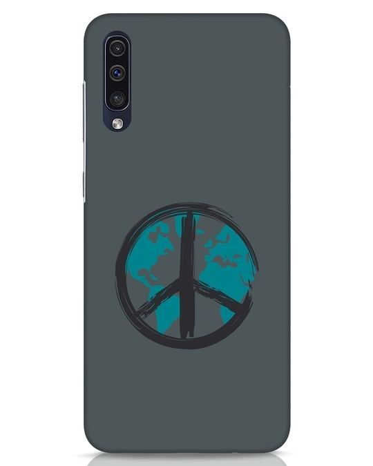 Shop World Peace Samsung Galaxy A50 Mobile Cover-Front