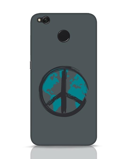 Shop World Peace Xiaomi Redmi 4 Mobile Cover-Front