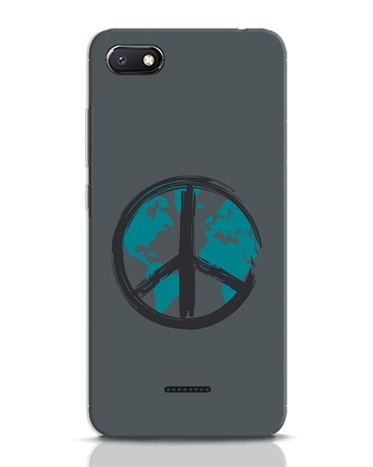 Shop World Peace Xiaomi Redmi 6A Mobile Cover-Front