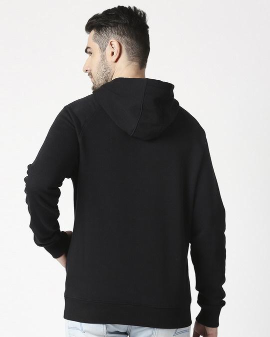 Shop Worthy Stylised Panel Sweatshirt Hoodie-Back