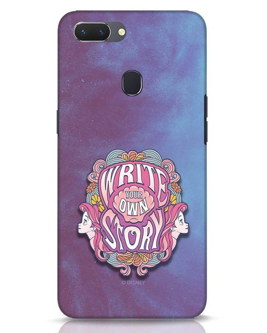 Shop Write Your Own Story Realme 2 Mobile Cover (DL)-Front