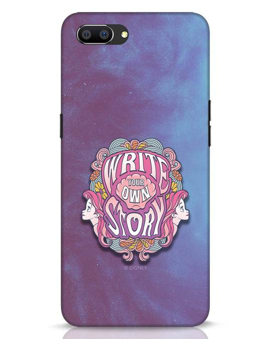 Shop Write Your Own Story Realme C1 Mobile Cover (DL)-Front