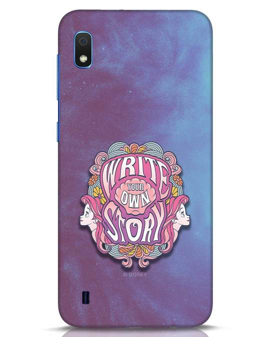 Shop Write Your Own Story Samsung Galaxy A10 Mobile Cover (DL)-Front
