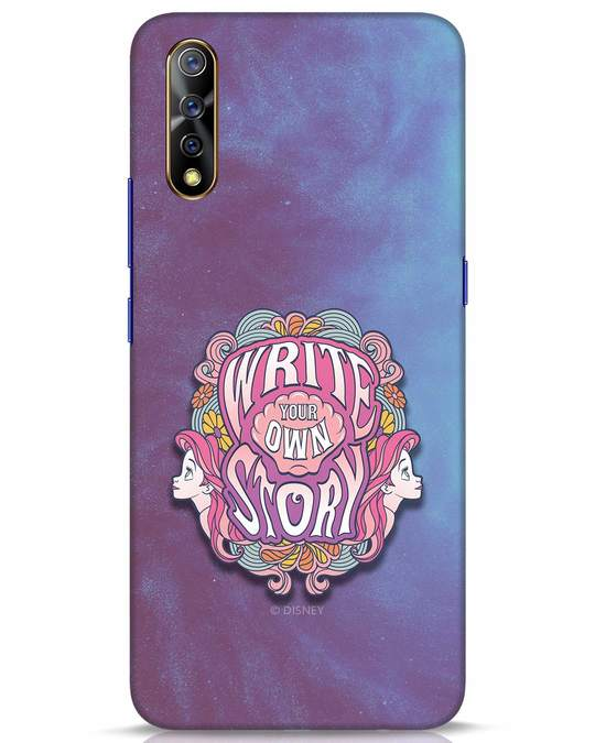 Shop Write Your Own Story Vivo S1 Mobile Cover (DL)-Front