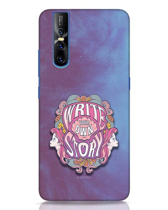 Shop Write Your Own Story Vivo V15 Pro Mobile Cover (DL)-Front