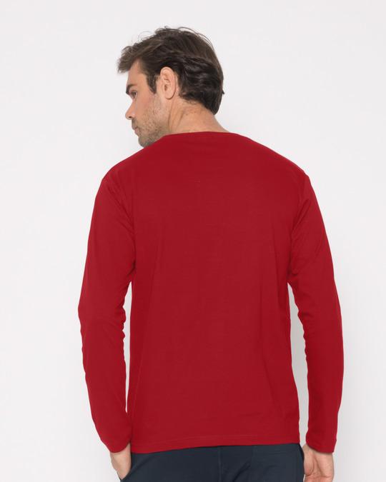 Shop Wtf Smiley Full Sleeve T-Shirt-Full