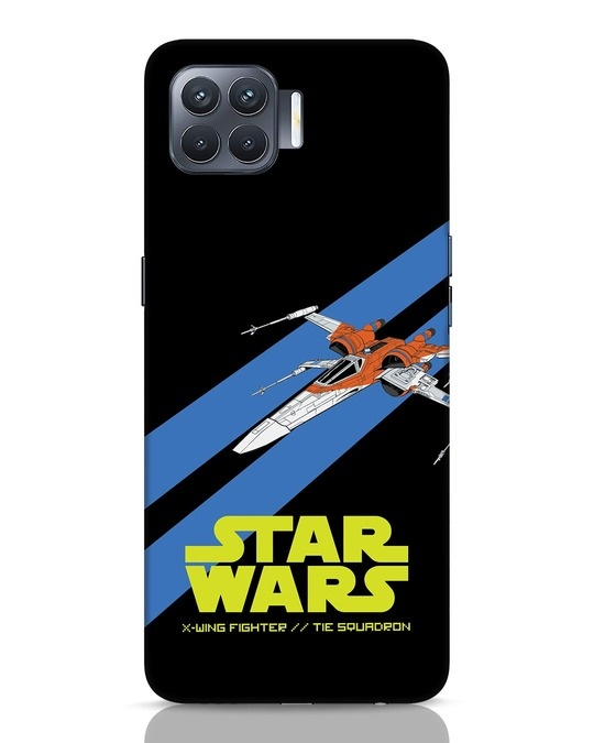 Shop X Wing Fighter Oppo F17 Pro Mobile Cover-Front