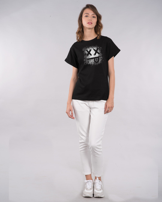 Shop Xx Smiley Boyfriend T-Shirt-Full